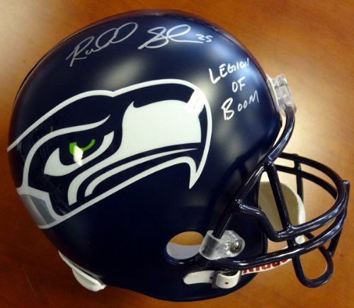Richard Sherman Autographed Seattle Seahawks Full Size Helmet