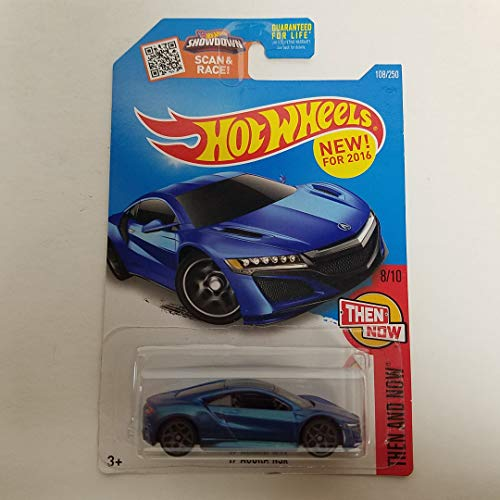 '17 Acura NSX 2016 Hot Wheels Then and Now 1/64 scale diecast car No. 108