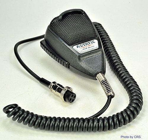 Astatic 636LB1 Astatic 636L Noise Canceling Mic CB Radio 4 pin Cobra