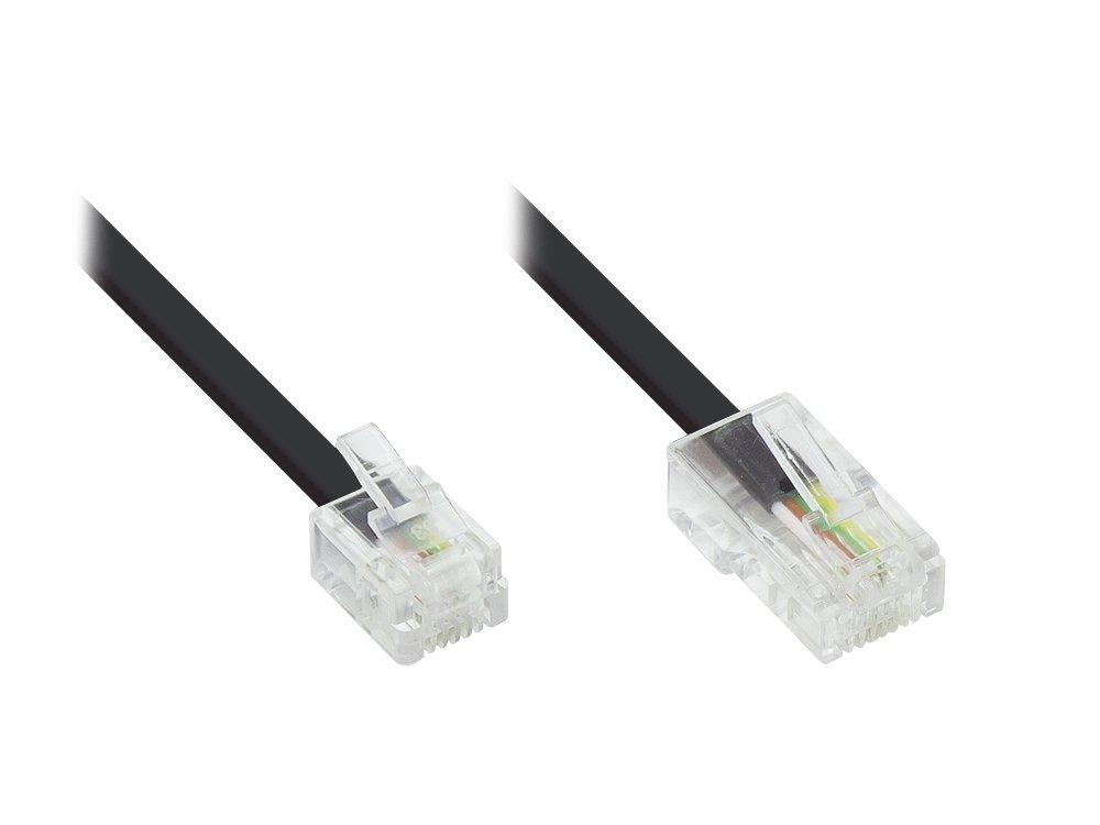 DSL Modem Kabel RJ11 / RJ45 Länge: 3m, Good: Amazon.de: Computer ...