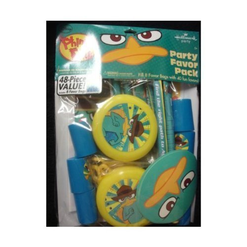 Phineas Ferb Party Favor Pack product image