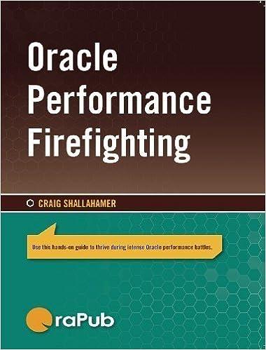 forecasting oracle performance shallahamer craig