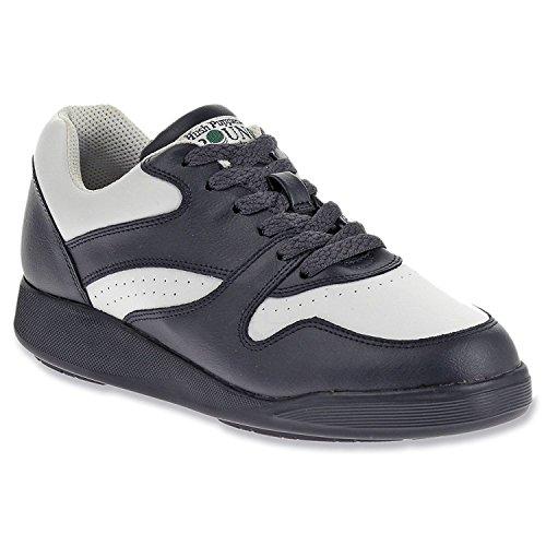 Hush Puppies Women's Upbeat Sneaker, Navy Multi, 37.5 B(M) EU/4.5 B(M) UK