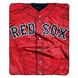 Boston Red Sox 50''x60'' Royal Plush Raschel Throw Blanket - Jersey Design