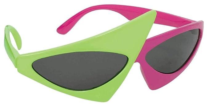 Amazon.com: Amscan - Disfraz de gafas asimétricas: Toys & Games
