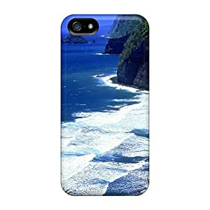 Cynthaskey Slim Fit Tpu Protector QdFVSVc1007HEKKH Shock Absorbent Bumper Case For Iphone 5/5s