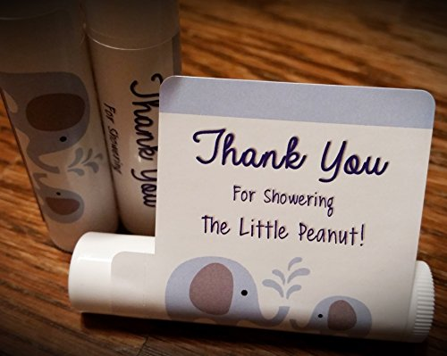 Lip Balm Baby Shower Favors
