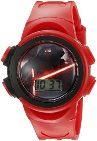 Star Wars Kids' SW7KD156CT Digital Display Quartz Red Watch