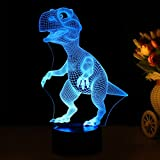 3D Children Kids Night Lamp, Dinosaur Toys for