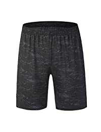 Iuhan® Athletic Shorts for Men, Workout Fitness Sports Gym Yoga Athletic Short Pants