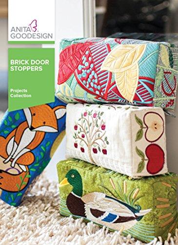 Anita Goodesign Embroidery Designs Brick Door Stoppers by Anita Goodesign