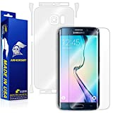 ArmorSuit Samsung Galaxy S6 Edge Screen Protector MilitaryShield + Full Body Clear Skin MilitaryShield Back Film Protector for Galaxy S6 Edge - HD Clear Anti-Bubble Film
