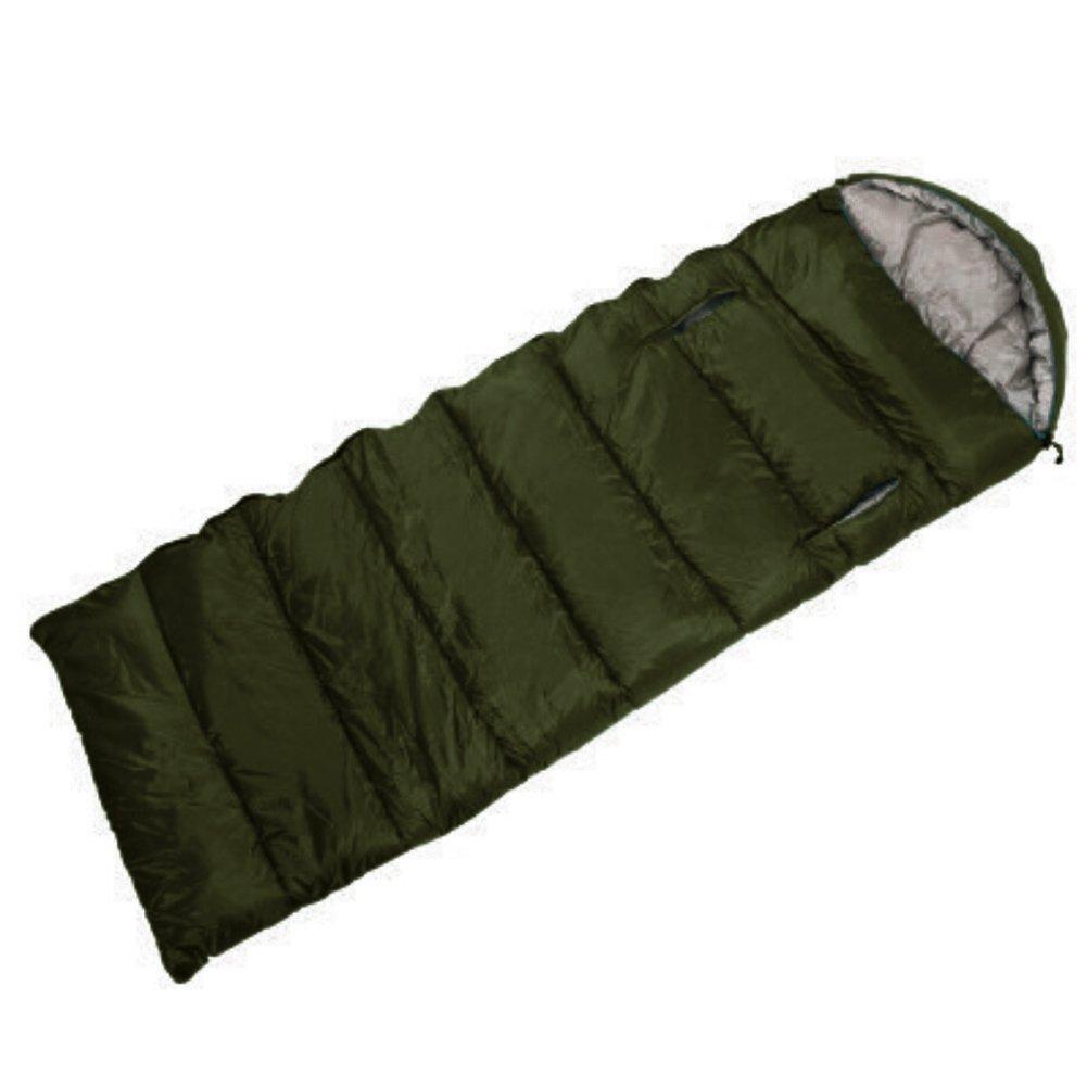 Sleepingバッグミリタリー迷彩防水封筒Sleepingバッグwith圧縮袋 B0714LRKY6 Hole Design Green Hole Design Green
