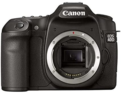 Canon eos 40d 10 1mp digital slr camera body only