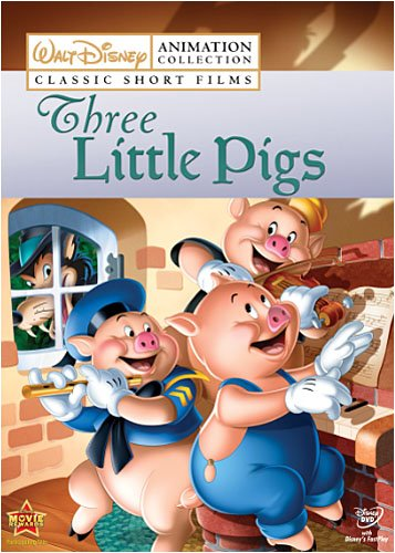 Disney Animation Collection Vol. 2: Three Little Pigs Billy Bletcher Pinto Colvig Dorothy Compton Mary Moder