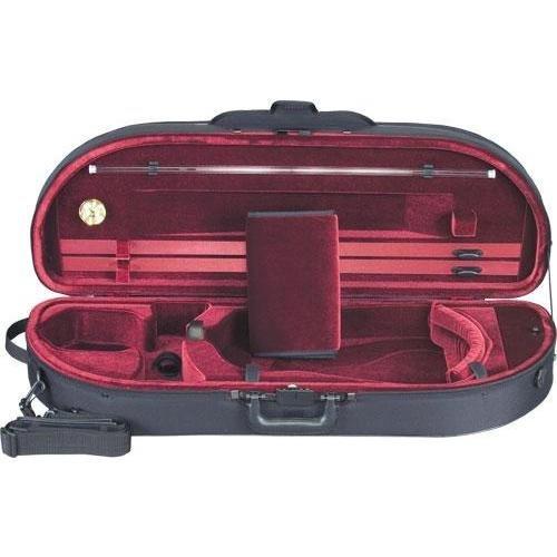 Heritage Go! Viola Case Black Red 16-165