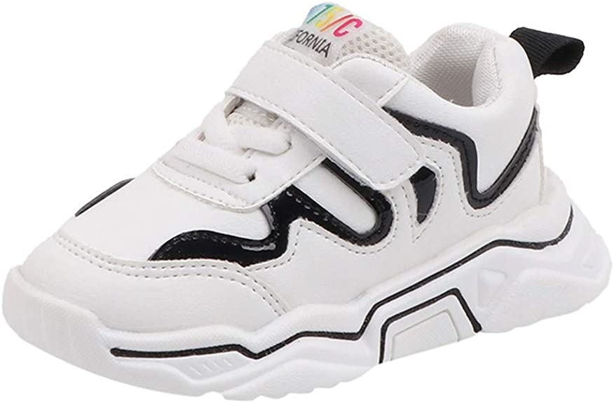 Baohooya Zapatillas de Deporte para Niño Niña - Lentejuelas Fondo Suave Antideslizante Transpirable Casuales Zapatos para Correr de Bebé: Amazon.es: Zapatos y complementos