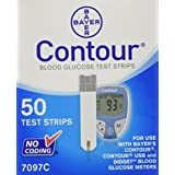 Bayer Contour Diabetic Test Strips (Pack of 50)