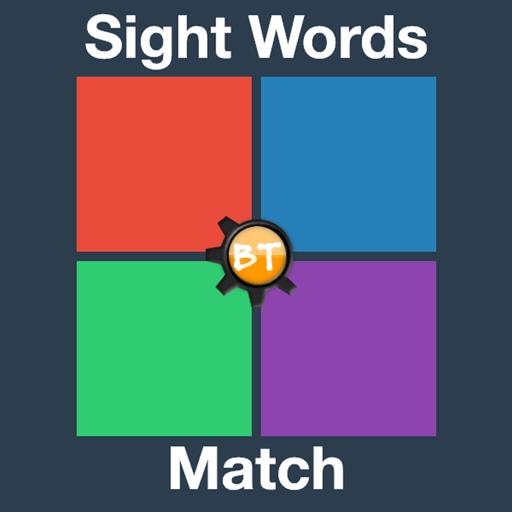 BT Sightword Match (2nd Grade Games)