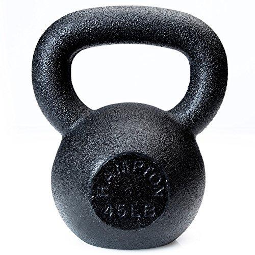 Hampton Fitness USA-Made Urethane Encased Kettlebells - 3900 lbs - Military Platoon Package