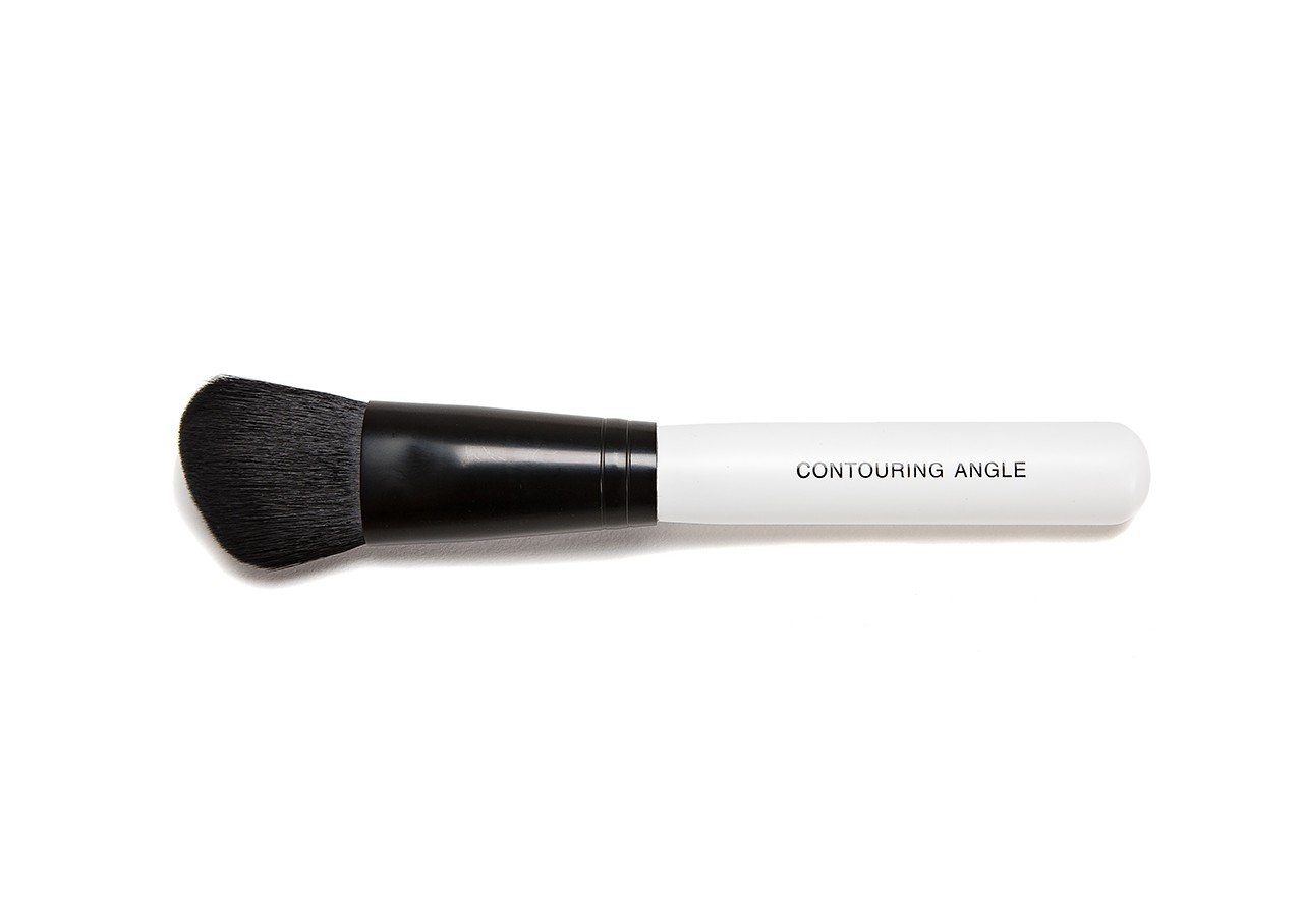 Bare Face Minerals Professional Contouring Angle Brush | Angled Contour Brush | Bronzer | Bronzing | Blusher | Blush | Extra-Soft Synthetic Powder Brush | Makeup Brushes BareFace minerals®