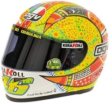 Casco Helmet Agv Valentino Rossi Gp Mugello Champion Gp 250 1999 Replica 1:8