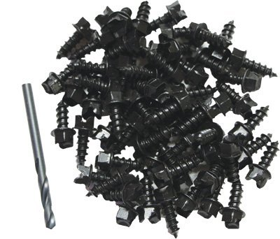 Skinz Protective Gear Traction Screws for FootLok Traction Cleats - Ice Screws Atv