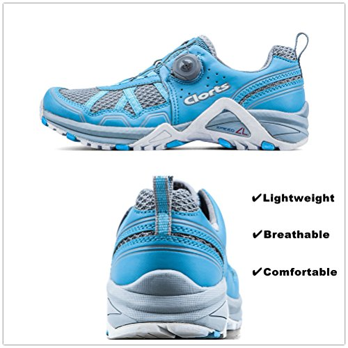 Clorts Donna Trail Running Scarpa Atletica Cross Trainer Boa Sport Sneaker 3f013w Blu