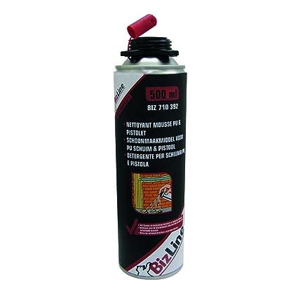 Limpiador de espuma de poliuretano expansiva y pistola