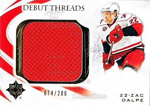 ((CI) Zac Dalpe Hockey Card 2010-11 UD Ultimate Collection Debut Thread (base) ZD Zac Dalpe)
