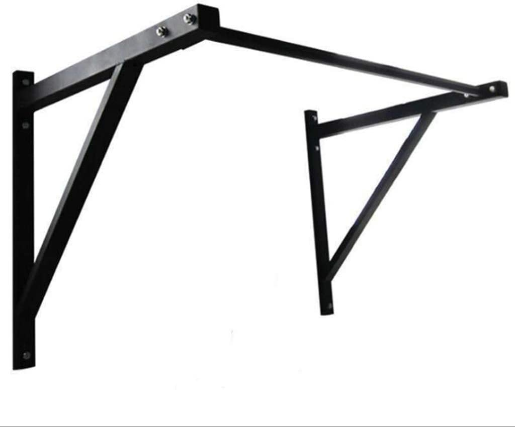 Capacity 500 lbs Midress 44 Wall Mounted Pull Up Bar Heavy Duty Steel Chin Pull Up Bar Body Strength Training Fitness Chin-Up Bar for Indoor Home Gym Workout