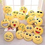 Cute Emoji Expression Throw Pillow Stuffed Plush Sofa Bed Custion ( Heart )