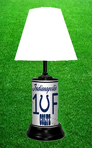 INDIANAPOLIS COLTS TABLE LAMP (Indianapolis Colts Decor)