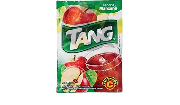 Amazon.com : 3 X Tang Manzana Flavor No Sugar Needed Makes 2 Liters of Drink 15g From Mexico : Grocery & Gourmet Food