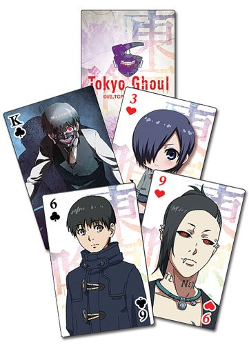 Great Eastern Entertainment 51562  Tokyo Ghoul: SD Playing Cards, One Size, - Entertainment Card
