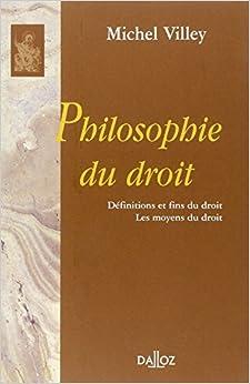 Book Philosophie du droit