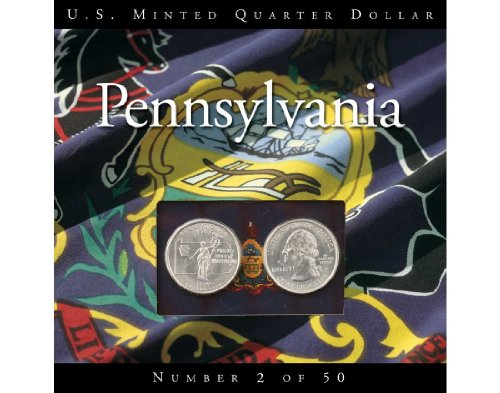 Pennsylvania State Quarter-Uncirculated P and D Mint Collection