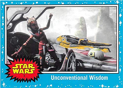 Ashoka Tano trading card Star Wars Journey Last Jedi 2017#8 Rebels Cartoon