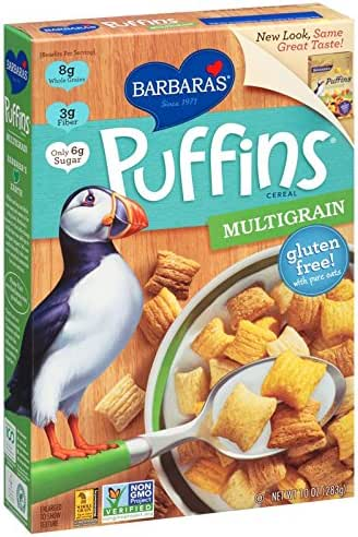 Breakfast Cereal: Barbara's Puffins