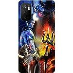 BuyFeb Back Cover Case Compatible for Poco M3 Pro 5G (Silicon Soft Printed Mobile Cover) – Design1152