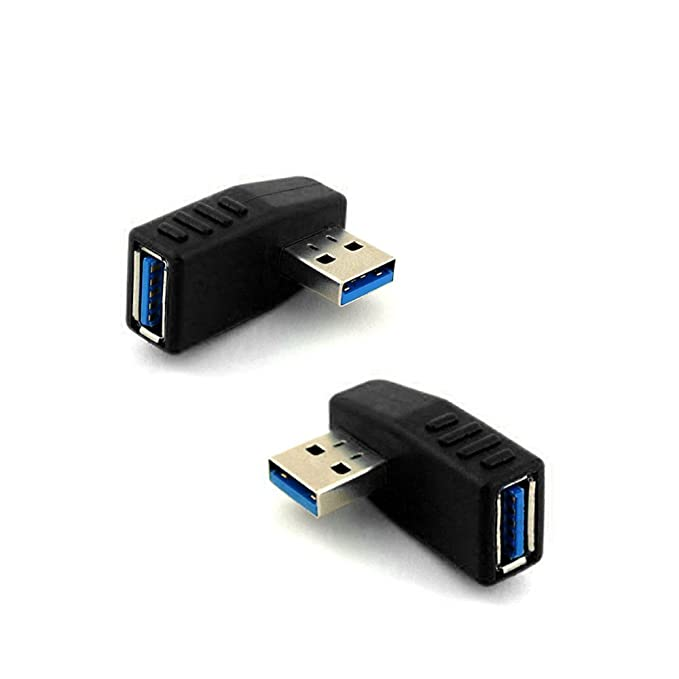 1 opinioni per COM-FOUR- Adattatore USB 3.0 maschio a femmina, angolo sinistro, 270°