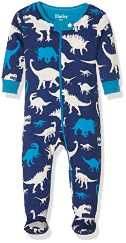 Hatley Silhouette Dinos Footed Coverall