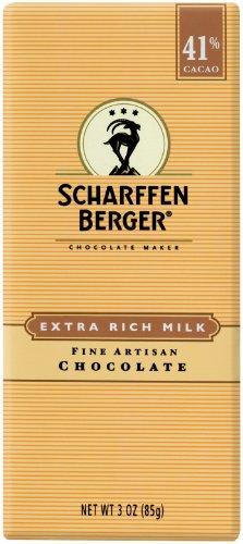 Scharffen Berger - Milk Chocolate Bar 41% Cacao Extra Rich Milk - 3 oz.
