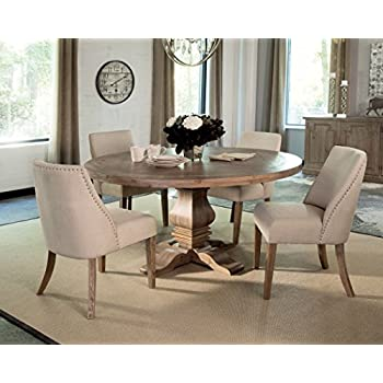 Donny Osmond Home 180200 Dining Table/Florence Collection, Dark Bronze, Not Applicable