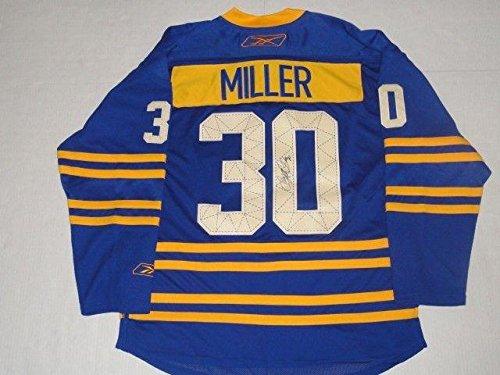 Autographed Ryan Miller Jersey - Reebok Throwback Alternate Coa - JSA Certified - Autographed NHL Jerseys ()