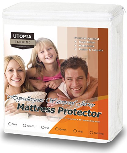 Hypoallergenic Waterproof Mattress Protector Noiseless