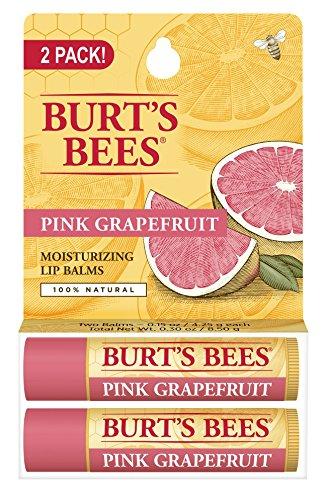 burts-bees-pink-grapefruit-moisturizing-lip-balm-015-oz-pack-of-2