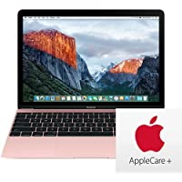 Apple MacBook 12 MNYN2LL/A 1.3GHz Dual-Core Intel Core i5, 512GB Flash, 8GB RAM - Rose Gold (Mid 2017) With AppleCare Bundle