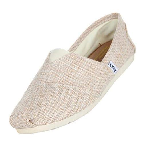Hombres Lona Zapatos De Moda Alpargatas para Hombre Slip Casual En Pisos Transpirables: Amazon.es: Zapatos y complementos