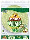 Mission Garden Spinach Herb Wraps, Soft Veggie